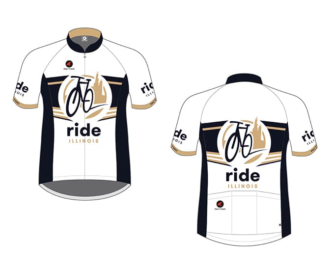 Ride Illinois Bike Jersey